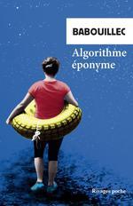 Couverture de Algorithme Eponyme