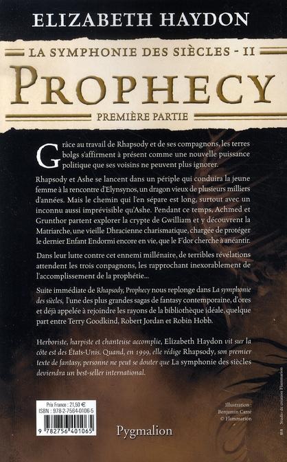 La symphonie des siècles t.2 ; prophecy, première partie