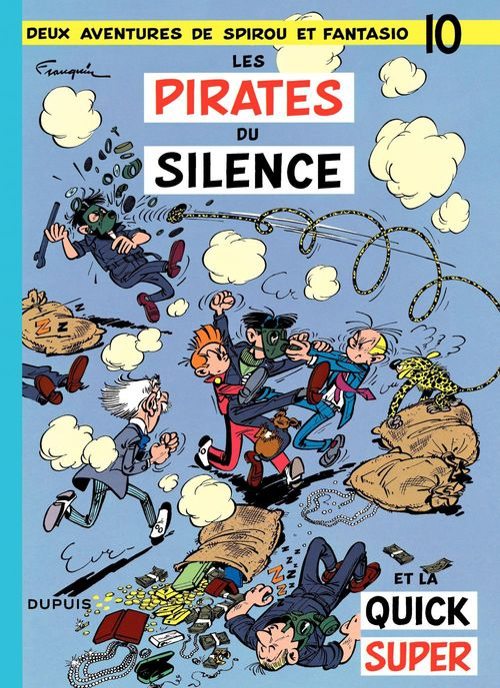 Les aventures de Spirou et Fantasio T.10 ; les pirates du silence