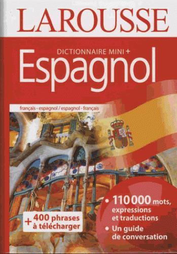 Dictionnaire mini plus espagnol