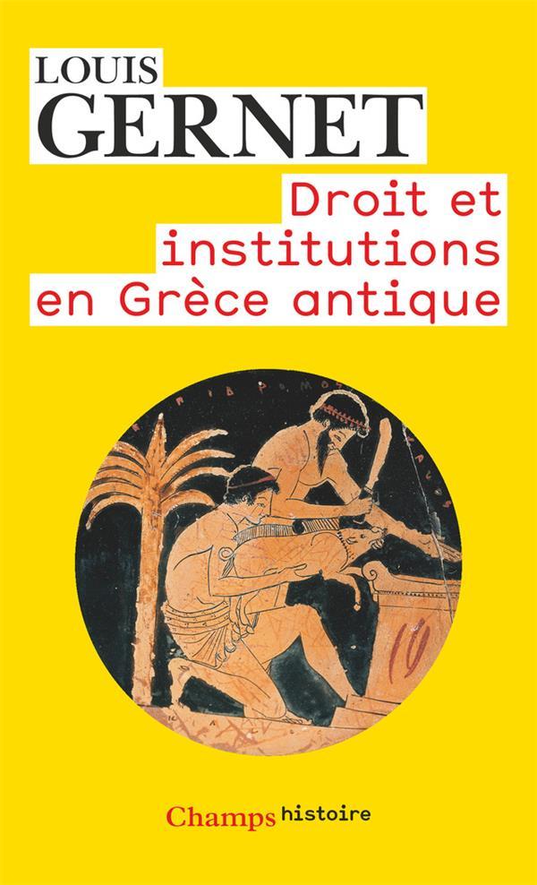 Droit et institutions en Grèce antique