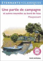 Couverture de Une partie de campagne et autres nouvelles au bord de l'eau