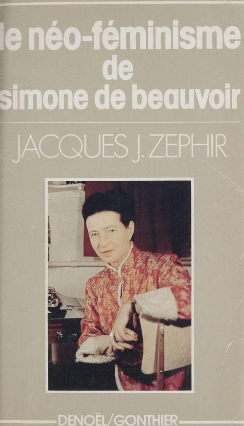 Le néo-féminisme de Simone de Beauvoir