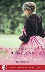 Vente Livre Numérique : À cause de Mlle. Bridgerton  - Julia Quinn