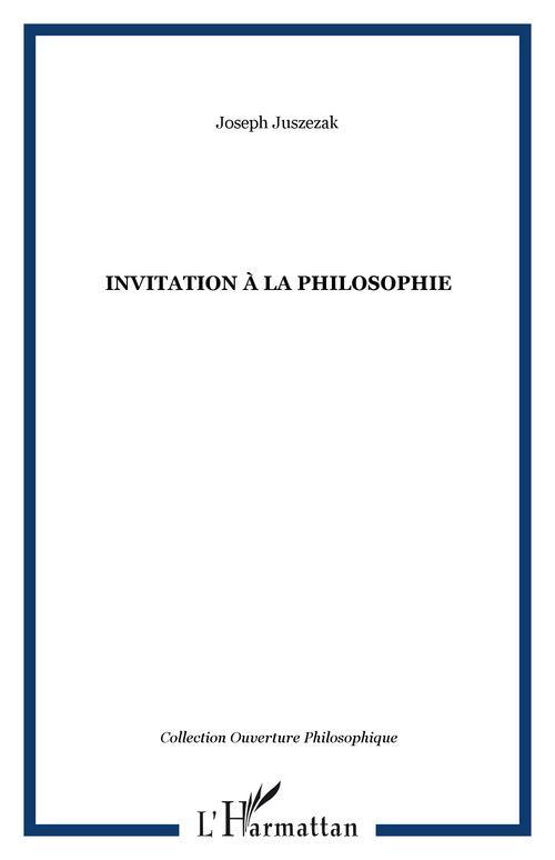 Invitation a la philosophie