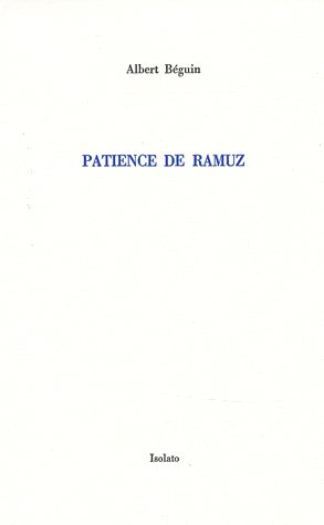Patience de Ramuz