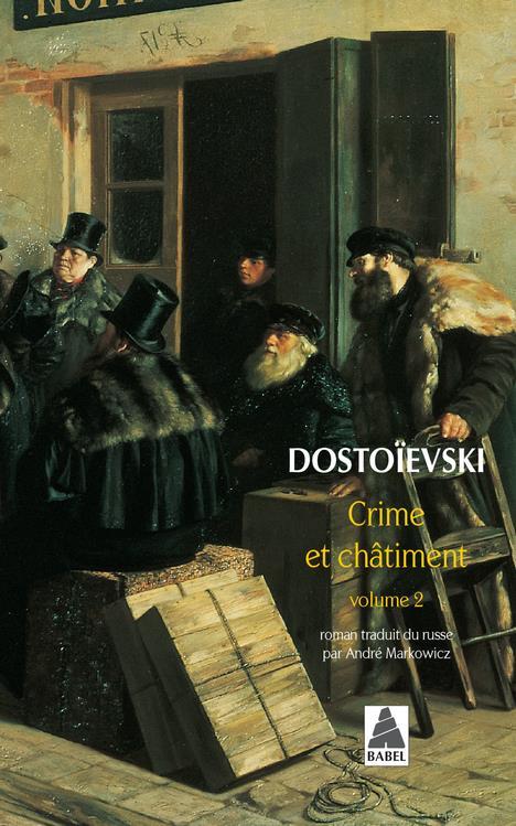 CRIME ET CHATIMENT T.2 DOSTOIEVSKI FEDOR MI