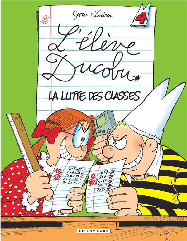 L'Eleve Ducobu T.4 ; La Lutte Des Classes