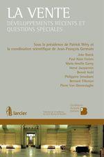 La vente  - Collectif - Patrick Wéry