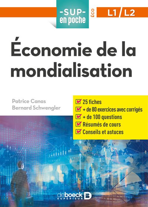 Sup en poche ; économie de la mondialisation ; L1, L2
