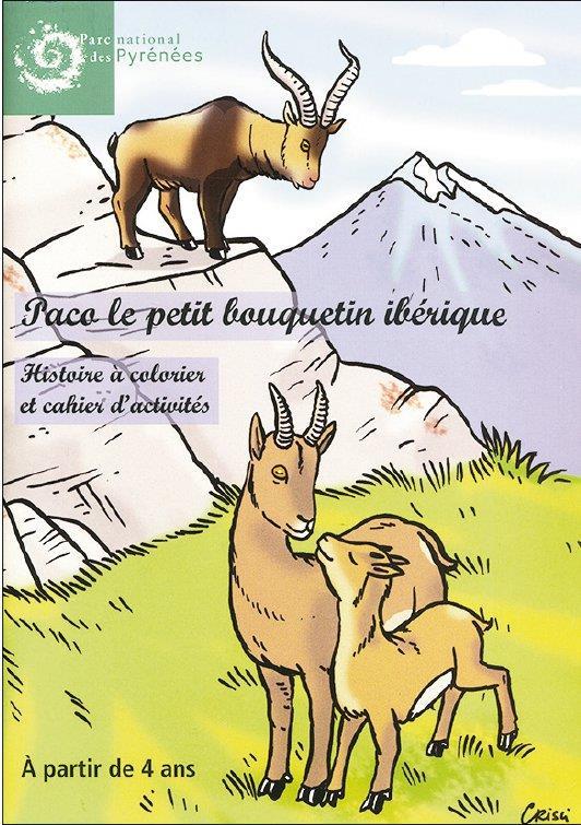 Paco, le petit bouquetin ibérique ; histoire à colorier et cahier d'activités