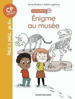 Vente Livre Numérique : Les enquêtes du CP T.6 ; énigme au musée  - Anne Rivière