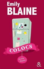 Vente Livre Numérique : Colocs (et rien d'autre)  - Emily Blaine