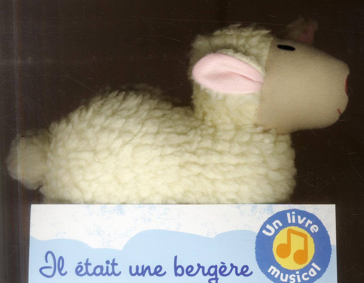 Il Etait Une Bergere ; Peluche Musicale Mouton
