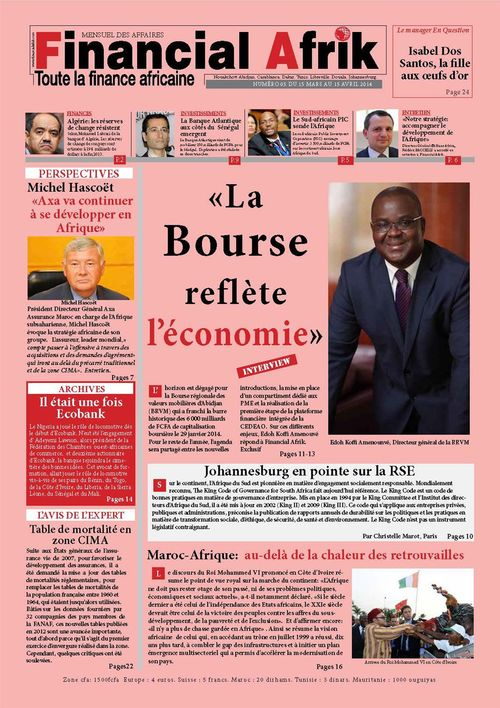 Financial Afrik n°5 avril 2014