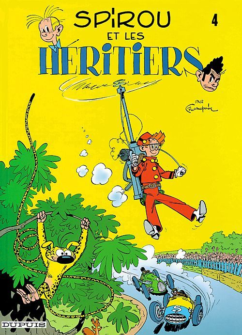 Les Aventures De Spirou Et Fantasio T.4 ; Spirou Et Les Heritiers
