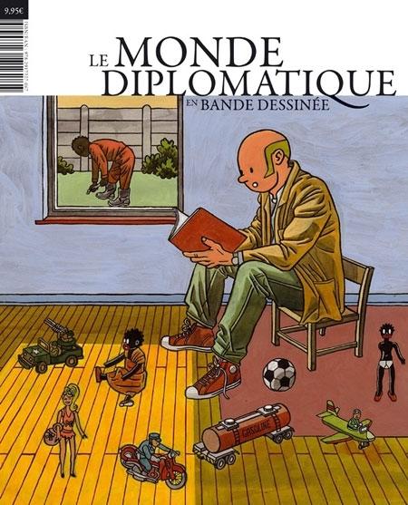Le monde diplomatique en bande dessinee