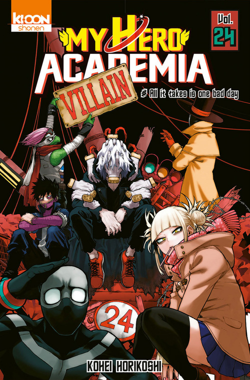 my hero Academia t.24 ; all it takes is one bad day
