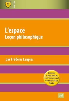 L'Espace ; Lecon Philosophique