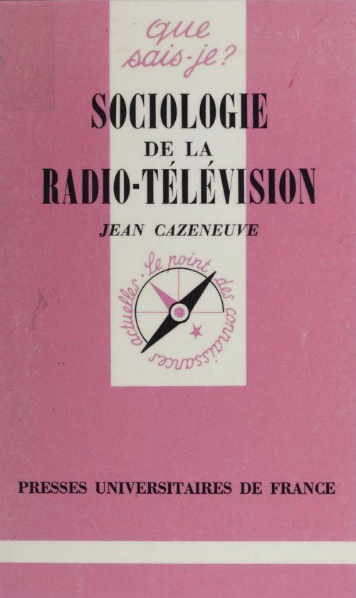 Sociologie de la radio-television