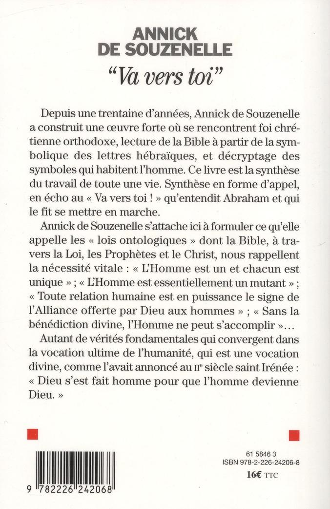« va vers toi » ; la vocation divine de l'Homme