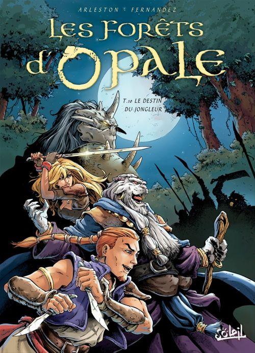 Les forêts d'Opale t.10 ; le detin du jongleur  - Christophe Arleston