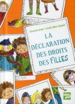 Couverture de La Declaration Des Droits Des Filles