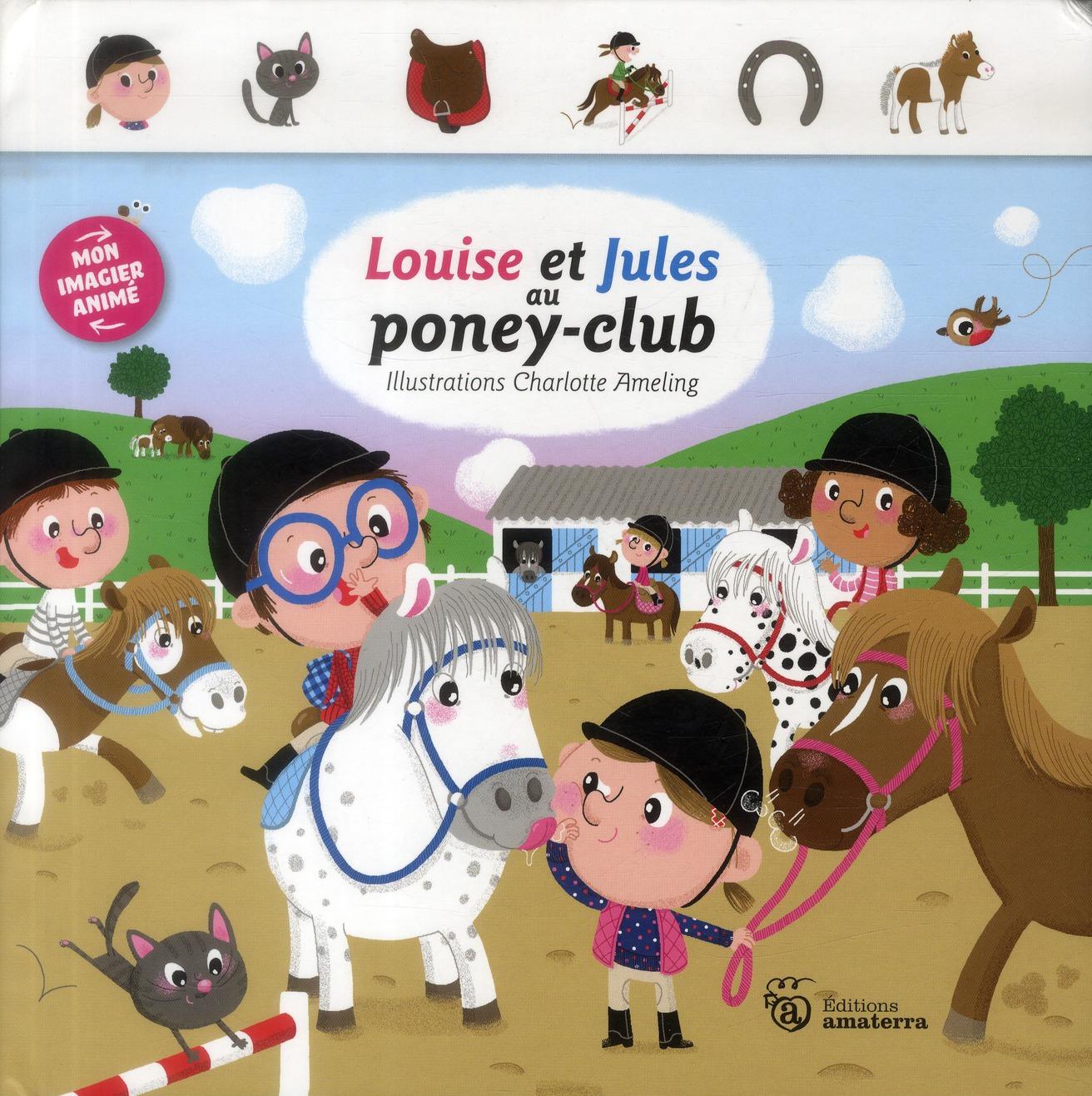 Louise et Jules au poney-club