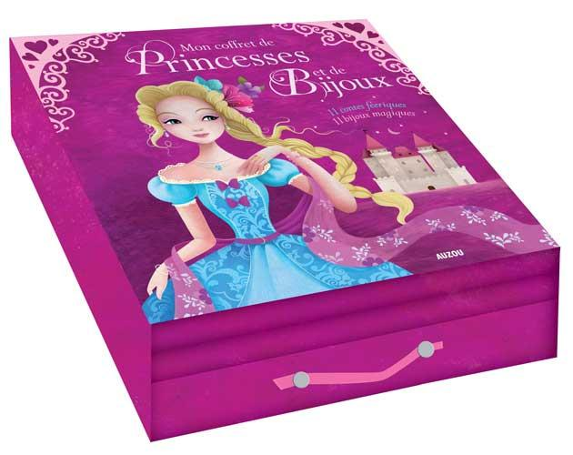 Mon coffret de princesses et bijoux