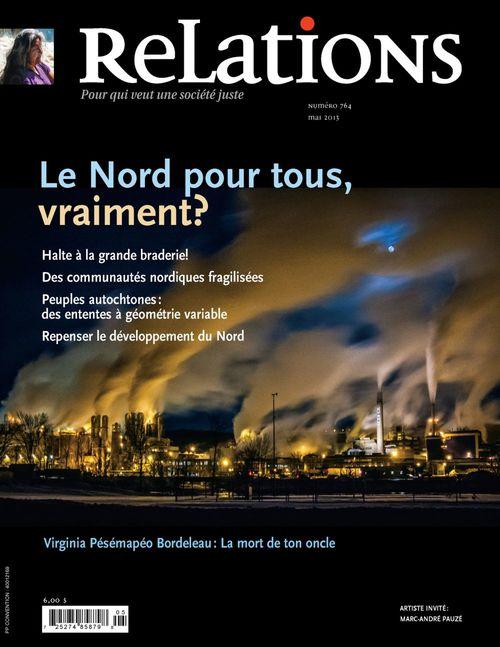 Relations. No. 764, Avril-Mai 2013