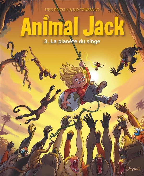Animal Jack T.3 ; la planète du singe
