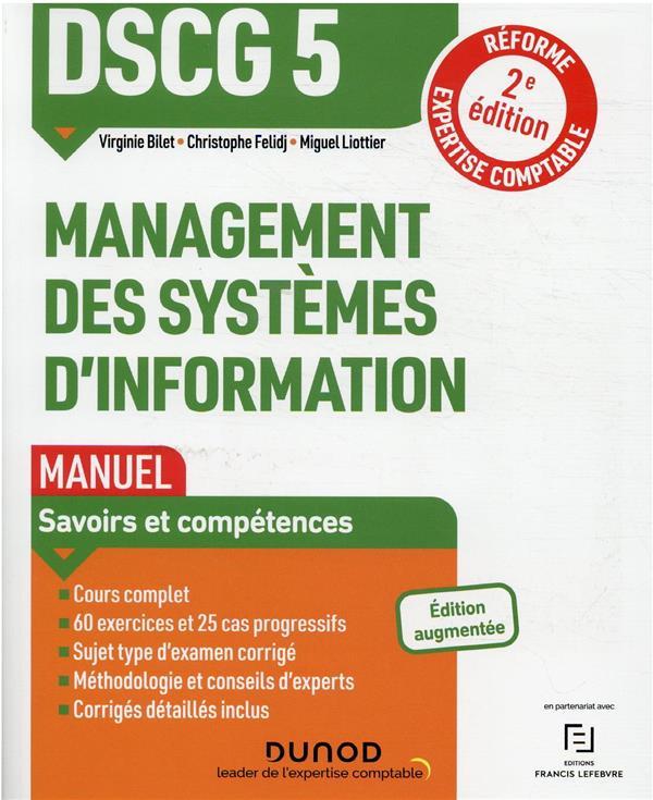 DSCG 5 : management des systèmes d'information ; manuel (2e édition)