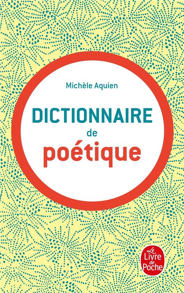 Dictionnaire De Poetique