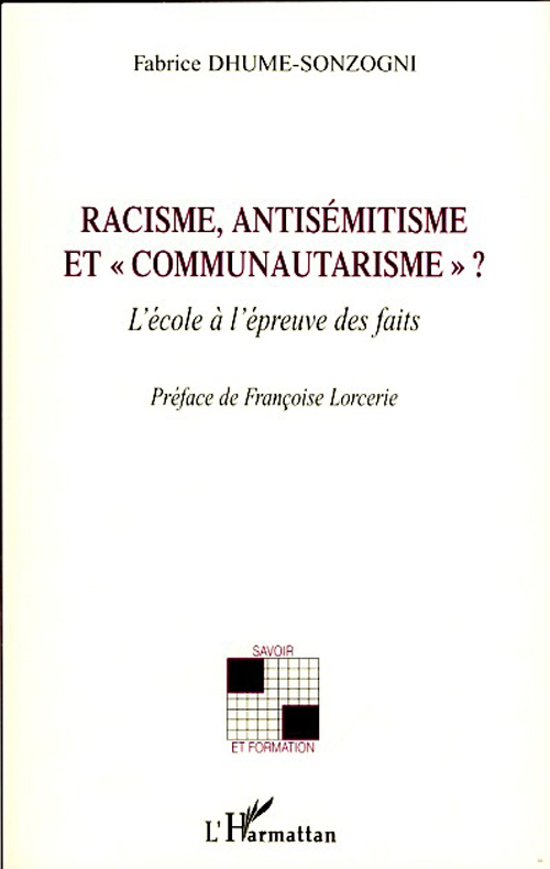 Racisme, antisémitisme et
