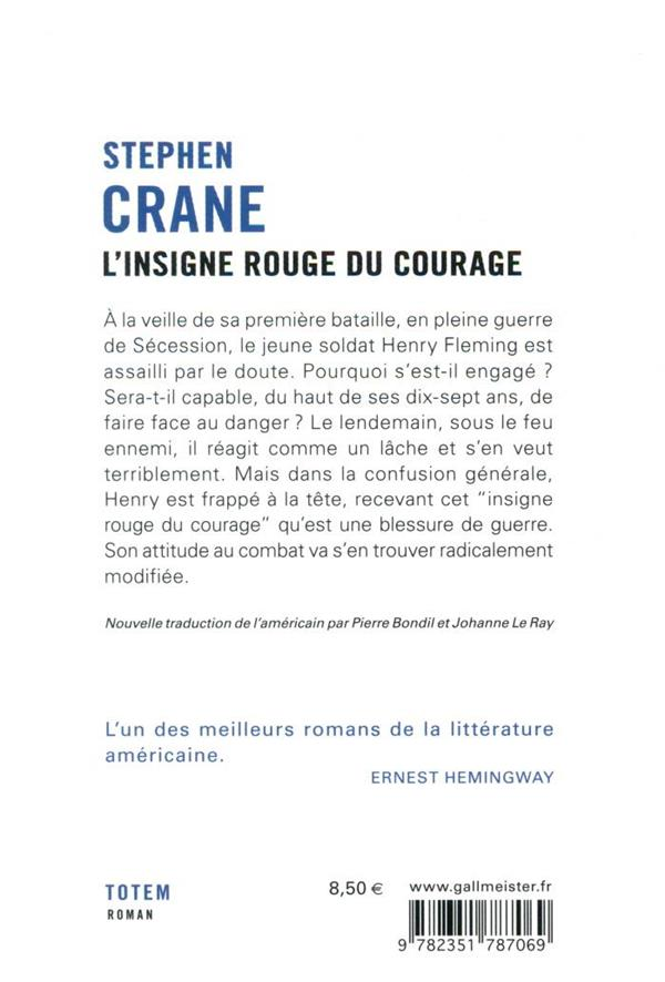 L'insigne rouge du courage
