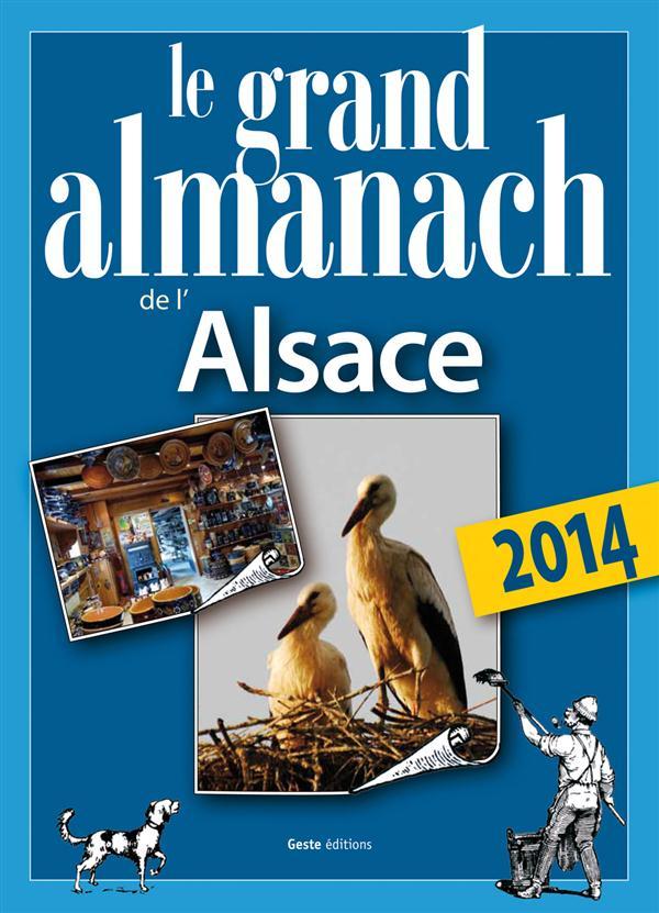 Le grand almanach de l'Alsace 2014