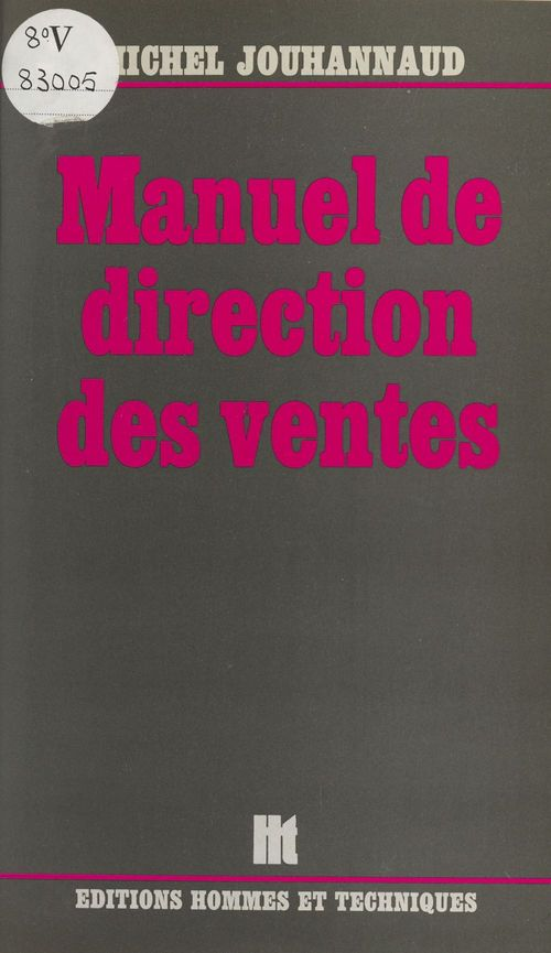 Manuel de direction des ventes