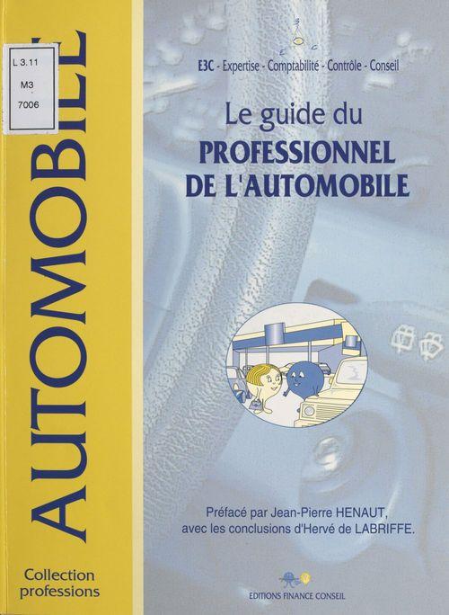 Le guide du professionnel de l'automobile