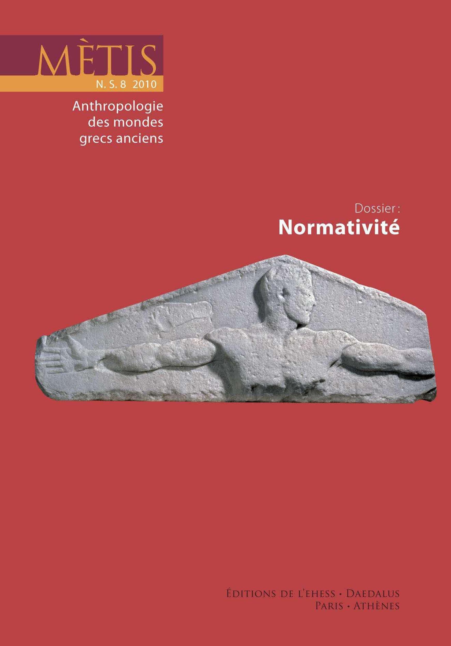 Dossier : Normativité