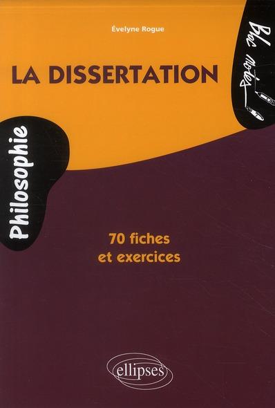 Reussir La Dissertation De Philosophie 70 Fiches De Conseils Et D'Entrainement