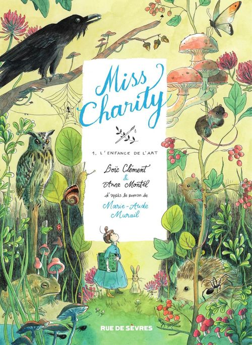 Miss Charity T.1 ; l'enfance de l'art
