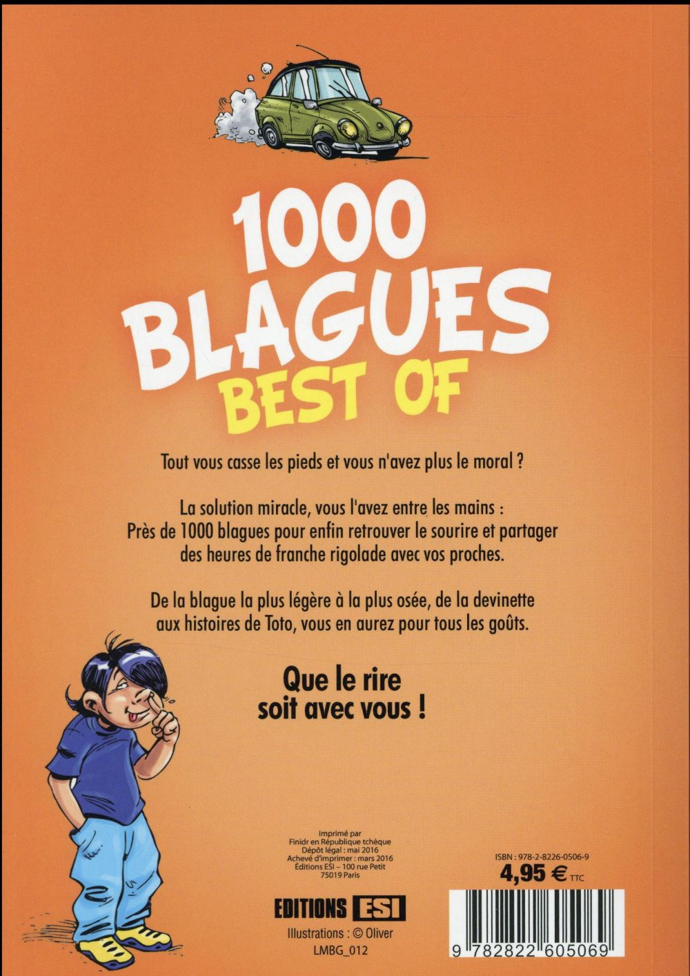 1000 blagues ; best of