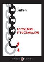 Couverture de De l'esclavage et du colonialisme