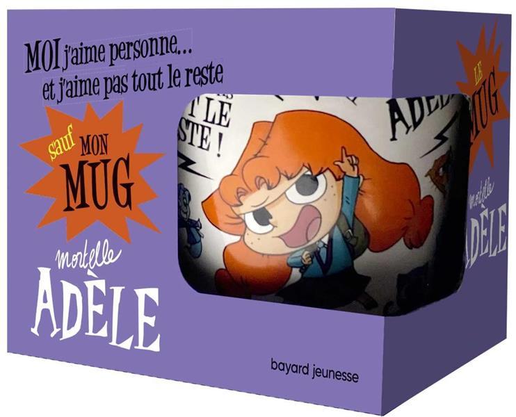 mortelle Adèle ; mug moi j'aime personne... et j'aime pas tout le reste