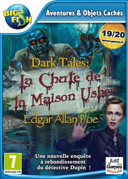 dark tales: la chute de la maison Usher par Edgar Allan Poe