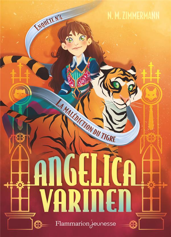 Angelica Varinen T.4 ; la malédiction du tigre