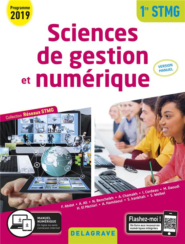 Réseaux STMG ; sciences de gestion et numérique ; 1re STMG (édition 2019)