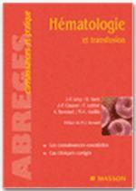Hematologie et transfusion