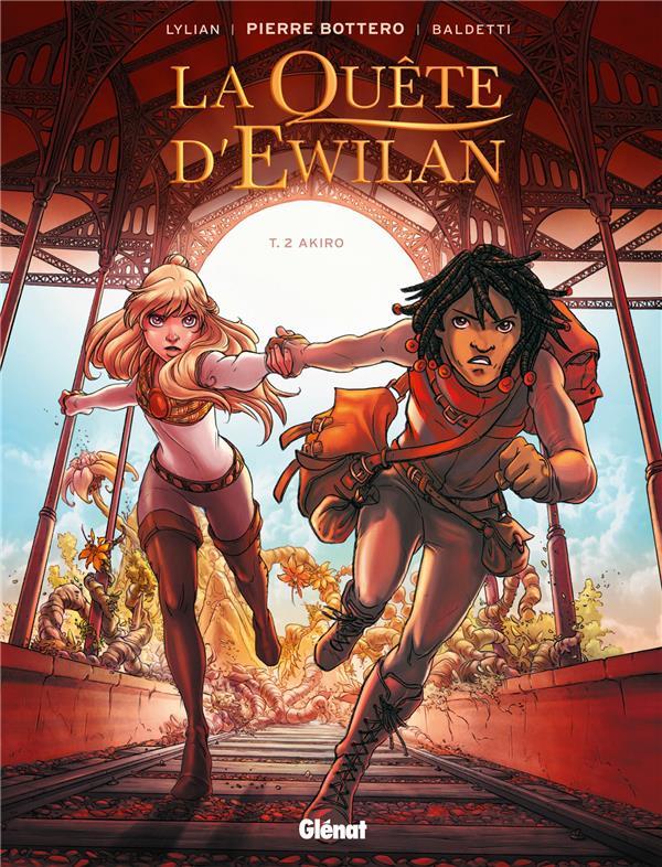 La quête d'Ewilan T.2 ; Akiro