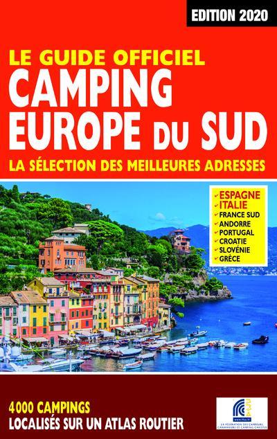 Le guide officiel camping Europe du Sud (édition 2020)